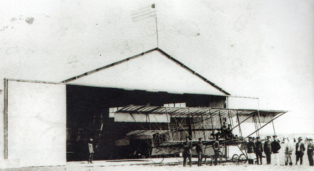 escuela aviacion 1913